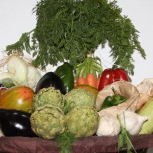 Cesta regalo verdura FRUTERIA DE VALENCIA