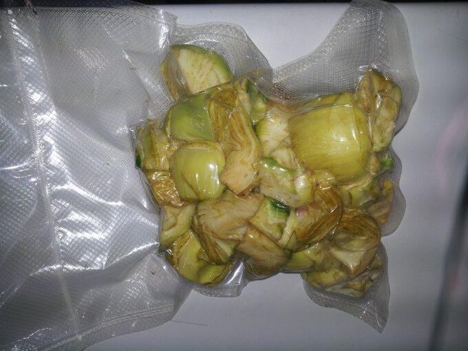 productos envasados alcachofa