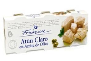 atun claro en aceite de oliva - Frutería de Valencia
