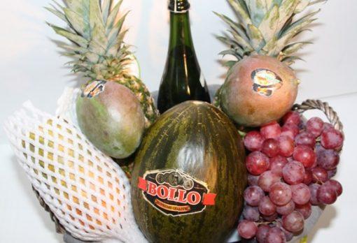 cestas con regalos gourmet - cestas de frutas -Fruteria de Valencia