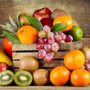 Cestas de frutas para regalar en Frutería de Valencia