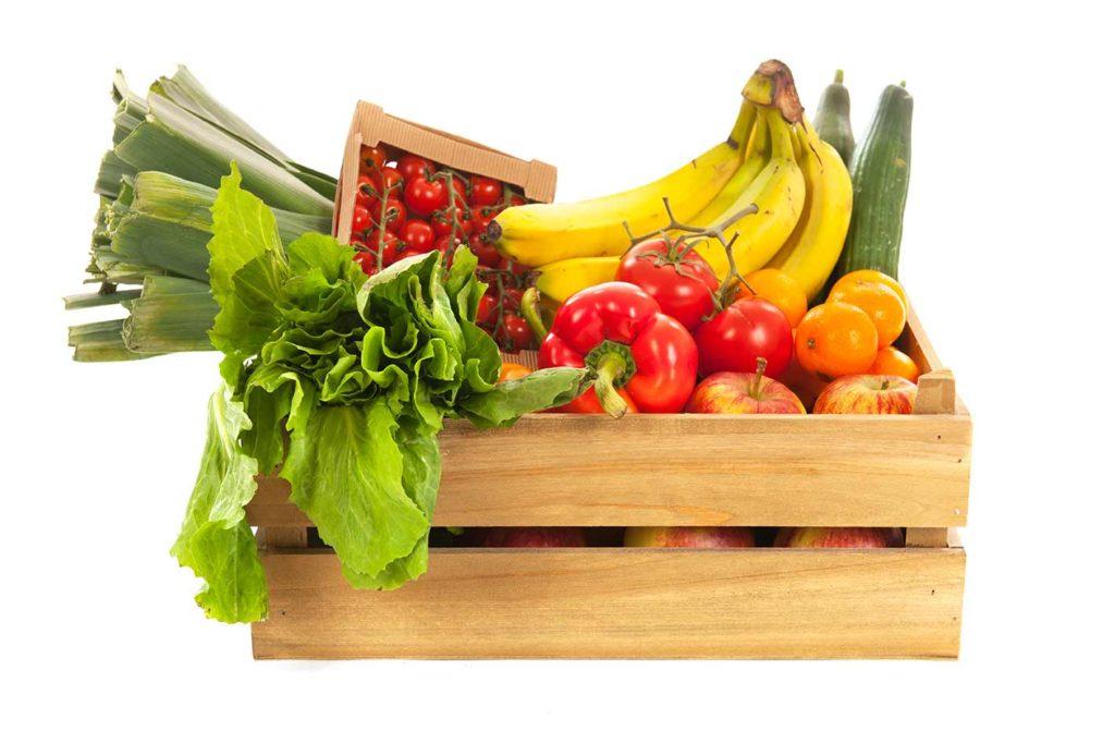 comida ecologica - frutas y verduras frescas - Frutería de Valencia