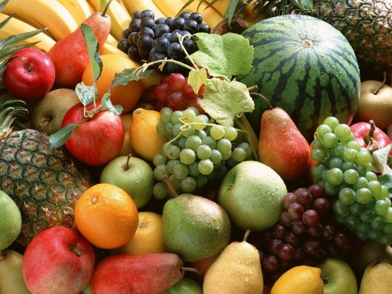cesta de fruta - fruteria de valencia