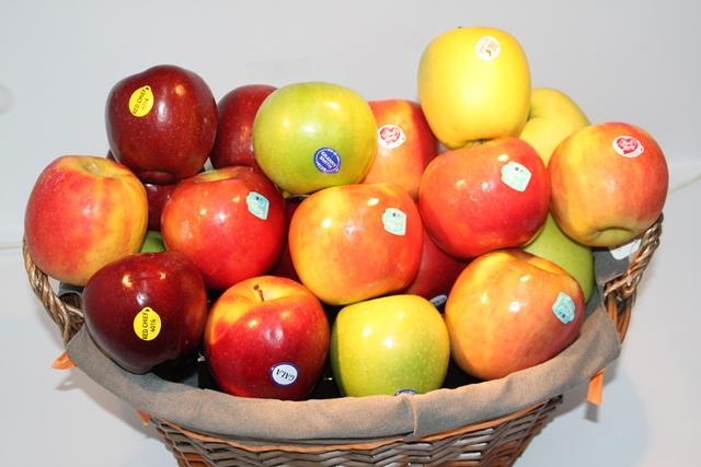 Cesta de manzanas, regalo original - Fruteria de valencia