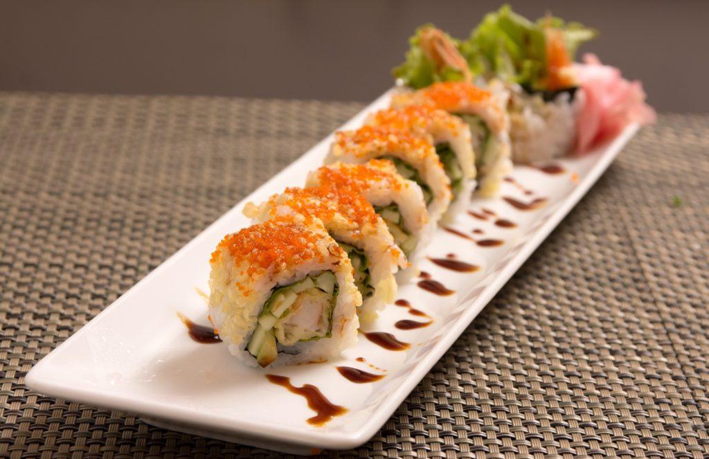 Sushi vegetariano - Fruteria de Valencia