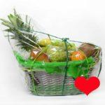 cesta de fruta para regalar - Fruteria de Valencia