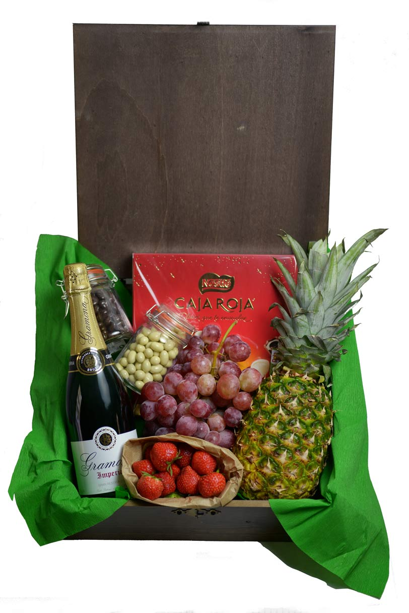 Cajas de fruta de madera para regalar fruter a de valencia - Cajas madera fruta ...