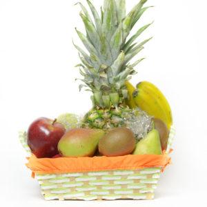 Cesta de frutas para regalar