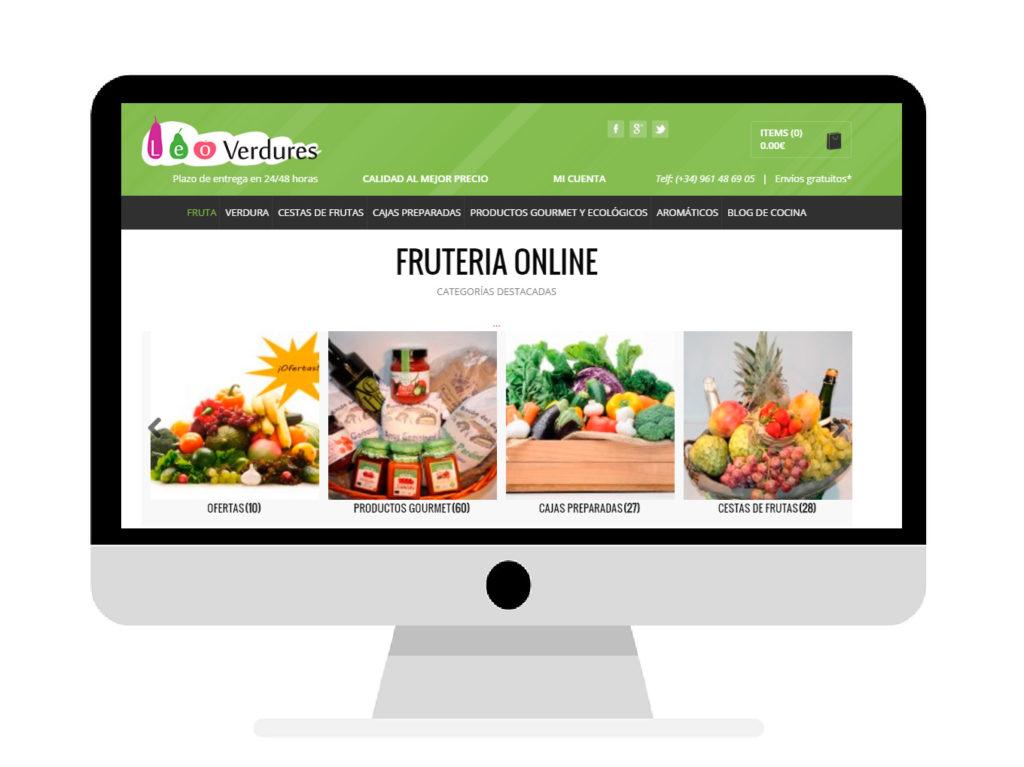 Crecimiento fruteria online