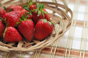 fresas de primavera