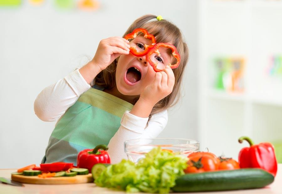 recetas de verdura para niños